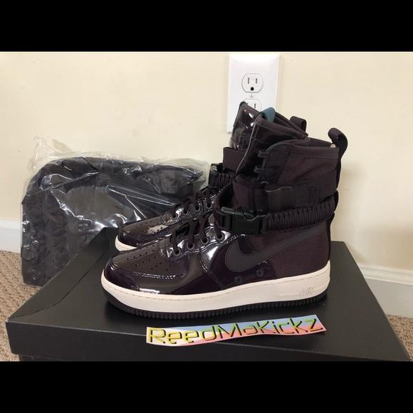 Shoes Nike Womens Port Air Af1 1 Poshmark Sf Force Wine Rose Ruby CwrqwAdU
